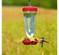 Perky-Pet® 24 oz Top Fill Plastic Hummingbird Feeder