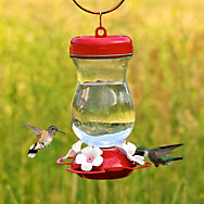 Perky-Pet® Top Fill Glass Hummingbird Feeder - 24 oz Nectar Capacity
