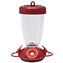 Perky-Pet® Red Flower Top Fill Plastic Hummingbird Feeder