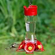 Perky-Pet® Favored Pinch-Waist Hummingbird Feeder - 16 oz Nectar Capacity