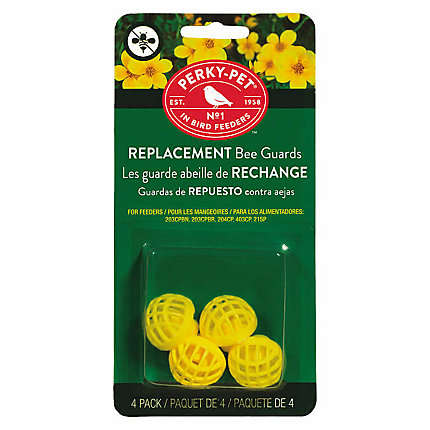 Perky-Pet® Replacement Yellow Bee Guards