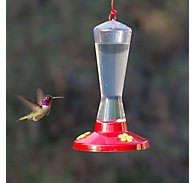 Perky-Pet® Clear Plastic Hummingbird Feeder