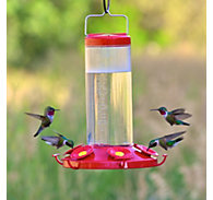 Perky-Pet® The Grand Master Plastic Hummingbird Feeder