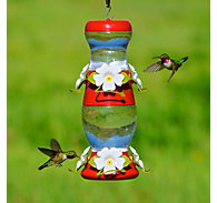 Perky-Pet® Double Decker Plastic Hummingbird Feeder