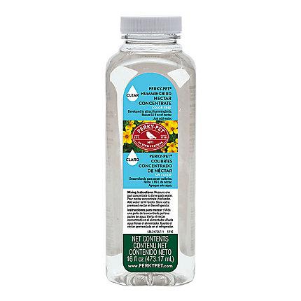 Perky-Pet®Clear Liquid Hummingbird Nectar Concentrate 16 oz Bottle