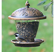 Perky-Pet® Holly Berry Gilded Chalet Wild Bird Feeder - 2 lb Seed Capacity