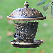 Perky-Pet® Holly Berry Gilded Chalet Wild Bird Feeder