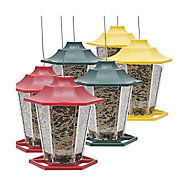 Perky-Pet® Colorful Carriage Bird Feeder 6-Pack