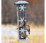 Perky-Pet® Squirrel-Be-Gone® Snowflake Wild Bird Feeder - 2 lb Seed Capacity