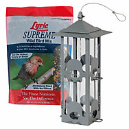 Lyric® Supreme Bird Seed and Perky-Pet® Squirrel-Be-Gone® I Bird Feeder Bundle