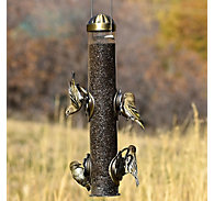 Perky-Pet® Copper Select-A-Finch Tube Feeder