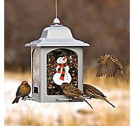 Perky-Pet® Holiday Snowman Lantern Feeder