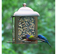 Perky-Pet® Antique Copper Lantern Feeder