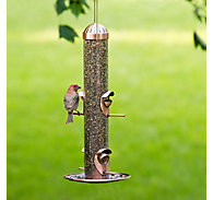 Perky-Pet® Copper Finish 2-in-1 Wild Bird Feeder