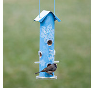 Perky-Pet® Snow Metal Tube Bird Feeder