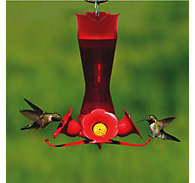Perky-Pet® Pinch Waist Plastic Hummingbird Feeder - 8 oz Nectar Capacity
