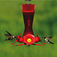 Perky-Pet® Pinch Waist Plastic Hummingbird Feeder - 8 oz Nectar Capacity