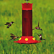 Perky-Pet® Hummer's Favorite Plastic Hummingbird Feeder