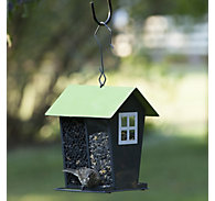 Perky-Pet® Gray Seed Duo Wild Bird Feeder - 2 lb Seed Capacity