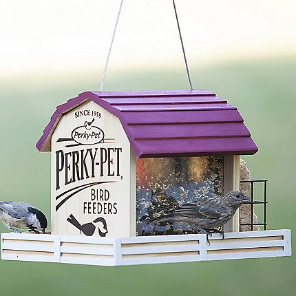 Peachy Perky Pet Star Barn Wood Chalet Bird Feeder Interior Design Ideas Philsoteloinfo