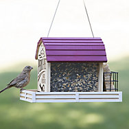 Perky-Pet® Star Barn Wood Chalet Bird Feeder