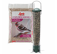 Lyric® Sunflower Kernels Bird Seed and Squirrel Resistant Breakaway Feeder Bundle