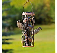 Perky-Pet® Copper Garden Bird Feeder - 1 lb Seed Capacity