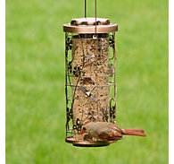 Perky-Pet® Copper Meadow Bird Feeder