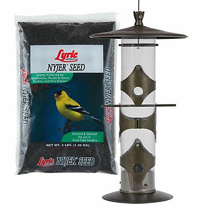 Lyric® Nyjer® Seed & Perky-Pet® Upside Down® Goldfinch Feeder Bundle