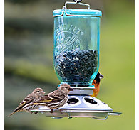Perky-Pet® Mason Jar Wild Bird Feeder - 1 lb Seed Capacity