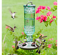 Perky-Pet® Antique Bottle Glass Hummingbird Feeder - 10 oz Nectar Capacity