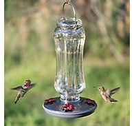 Perky-Pet® Starglow Vintage Hummingbird Feeder - 16 oz Nectar Capacity