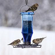 Perky-Pet® Sapphire Starburst Vintage Wild Bird Feeder - .5 lb Seed Capacity