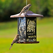 Perky-Pet® Wilderness Lantern Wild Bird Feeder - 2 lb Seed Capacity