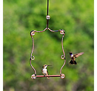 Perky-Pet® Beaded Copper Finish Hummingbird Swing