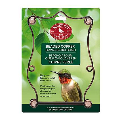 Perky Pet Beaded Copper Hummingbird Swing Model 90