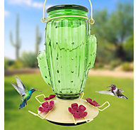 Perky-Pet® Cactus Top-Fill Glass Hummingbird Feeder