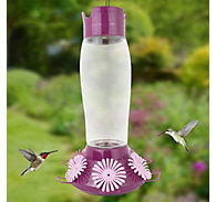 Perky-Pet® Top-Fill Hummer's Favorite Glass Hummingbird Feeder – 36 oz