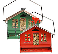 Perky-Pet® Squirrel-Be-Gone® II Wild Bird Feeder - 2 Pack - 8 lb Seed Capacity, Each