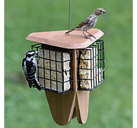 Perky-Pet® Triple Delight Bamboo Feeder - 3 Suet Cakes