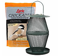 Lyric® Chickadee Bird Seed and NO/NO® Lantern Feeder Bundle