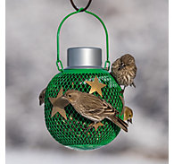 NO/NO® Green Solar Seed Ball Bird Feeder