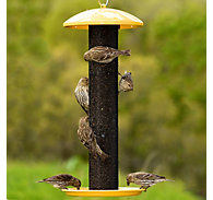 NO/NO® Yellow Straight-Sided Finch Feeder