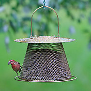 NO/NO® Original Brass Wild Bird Feeder