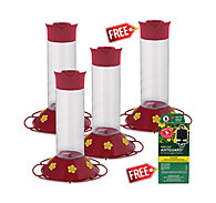 Perky-Pet® Buy 3 Get 1 FREE - Hummingbird Feeder