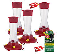 Perky-Pet® Buy 3 Get 1 FREE - Pinch-Waist Glass Hummingbird Feeder