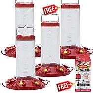 Perky-Pet® Buy 3 Get 1 FREE - The Grand Master Hummingbird Feeder