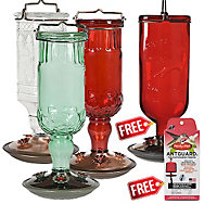 Perky-Pet® Buy 3 Get 1 FREE - Antique Hummingbird Feeder Assortment