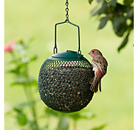 Perky-Pet® Green Seed Ball Wild Bird Feeder - 1 lb Seed Capacity