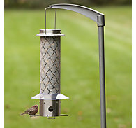 Perky-Pet® Frosted Squirrel-Be-Gone® Bird Feeder - 3 lb Seed Capacity
